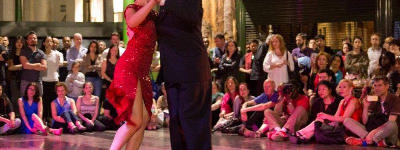 "Free tango bliss!! ""Tango on the Road"" at Borough Market"